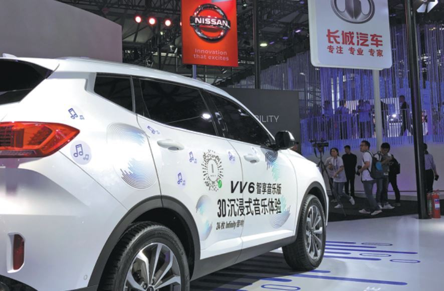 Great Wall Motor car production, sales up in July