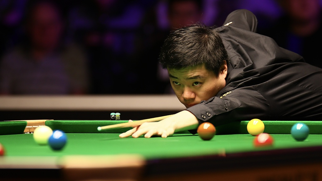 Ding Junhui levels with O'Sullivan at snooker world championship