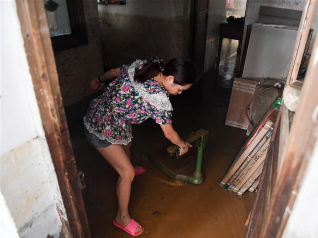 Pingjiang County in China's Hunan hit by torrential rains