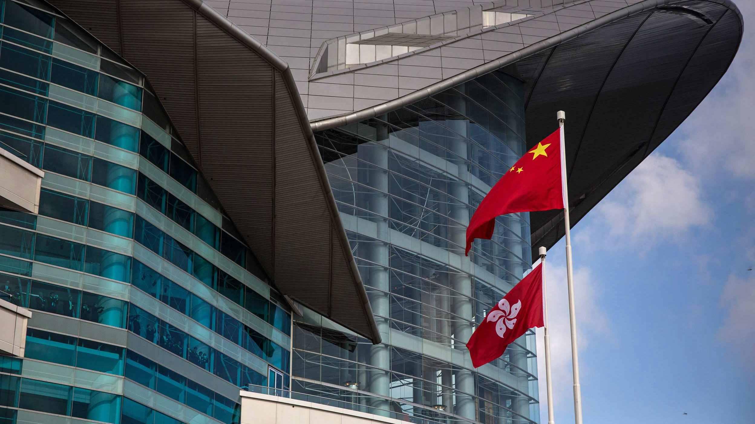China slams 'Five Eyes alliance' for politicizing HK election delay