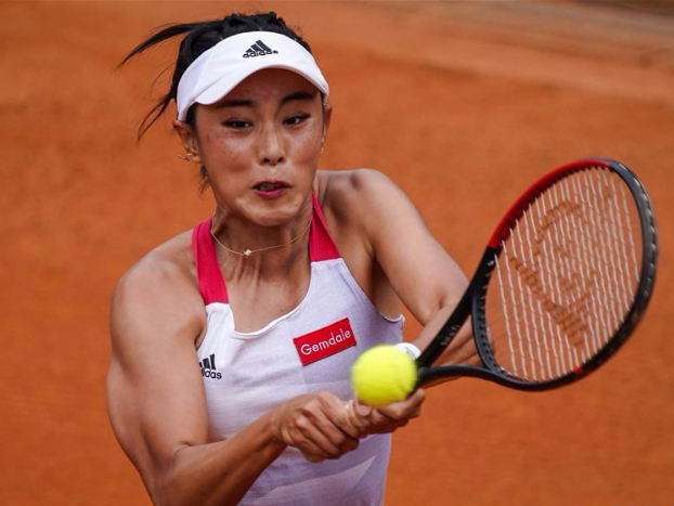 Tennis in a bubble: China's home tour shows new normal in COVID-19 era