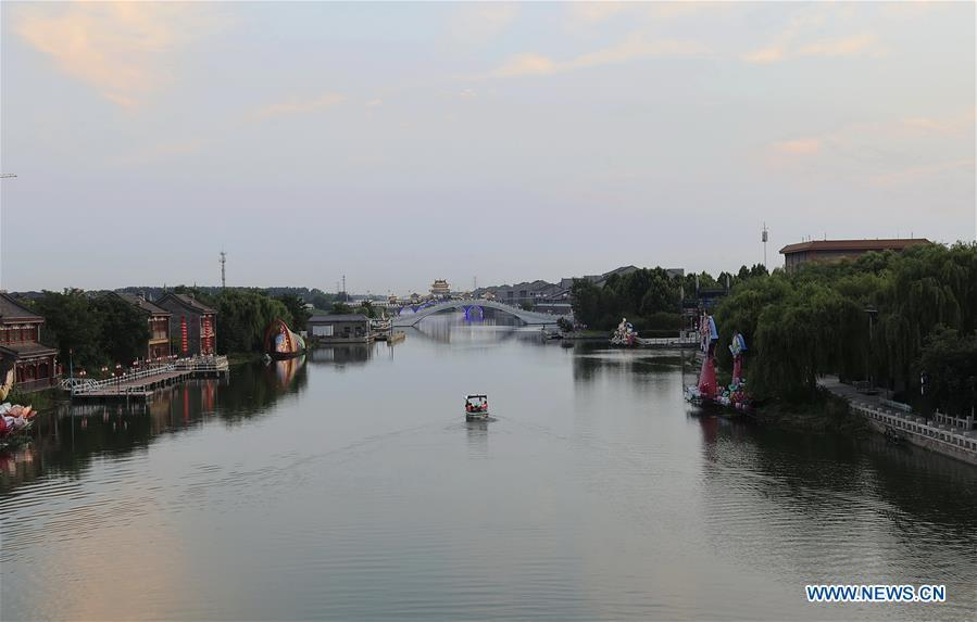 View of Fengnan District of Tangshan, Hebei