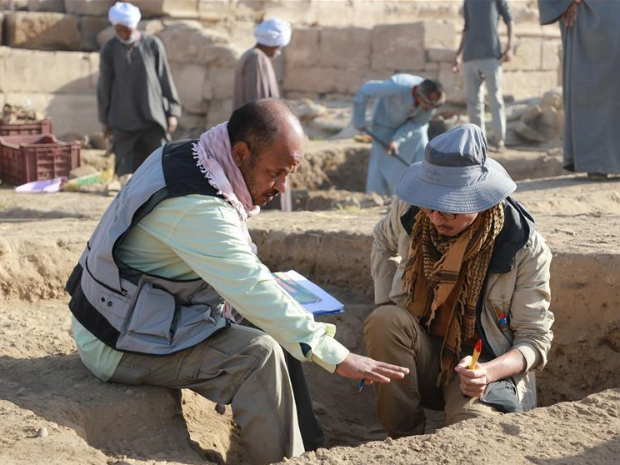 Egyptian-Chinese team achieves further excavation at Montu Temple in Luxor: Chinese team leader