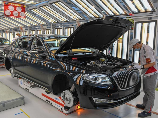 China's leading automaker posts strong sales growth