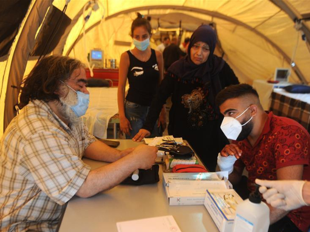 Lebanon receives field hospitals from other countries