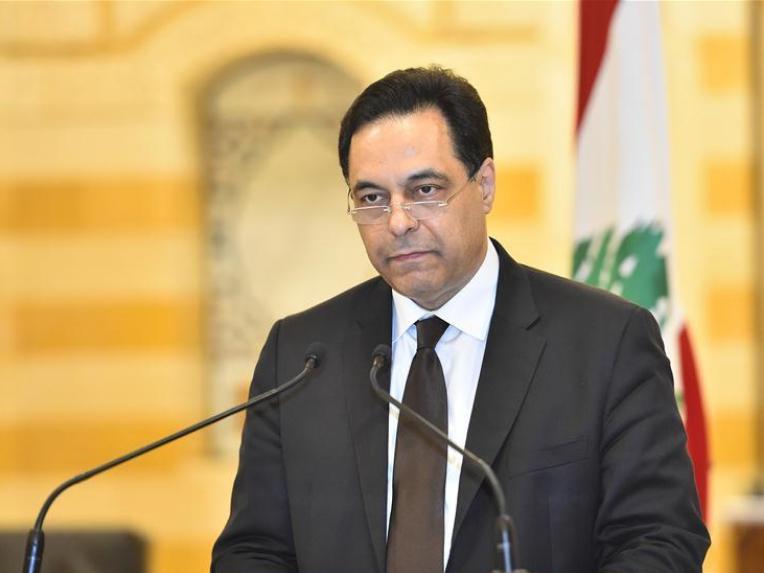 Lebanon's PM announces resignation of his gov't