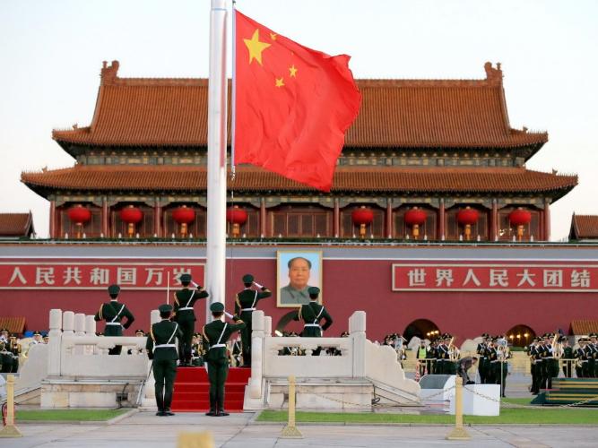 Draft amendment to safeguard national flag, promote patriotism