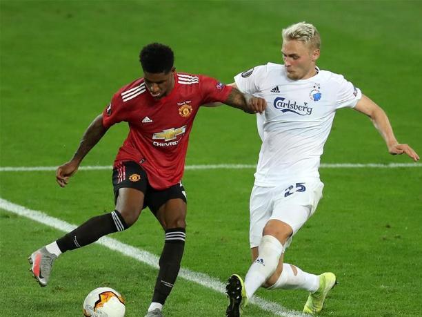 UEFA Europa League quarterfinal: Manchester United vs. FC Copenhagen