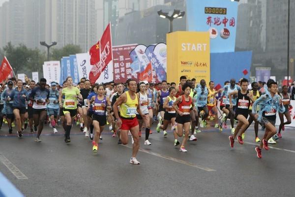 The 71-year-old in Shaanxi still runs marathon