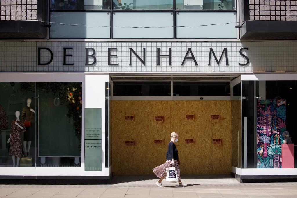 UK department store Debenhams cuts 2,500 jobs