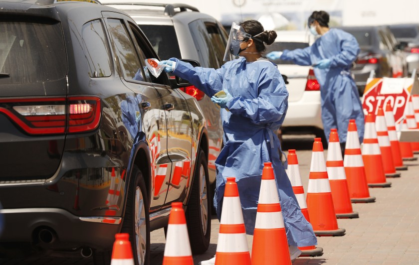 COVID-19 deaths surpass 5,000 in US Los Angeles County