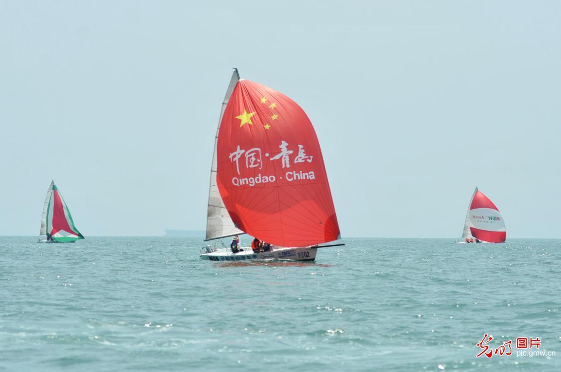 Coastal City Regatta 2020 held in Qingdao