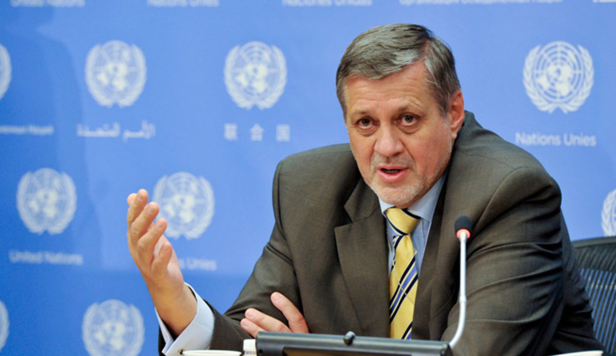 UN envoy calls for early formation of Lebanese gov't