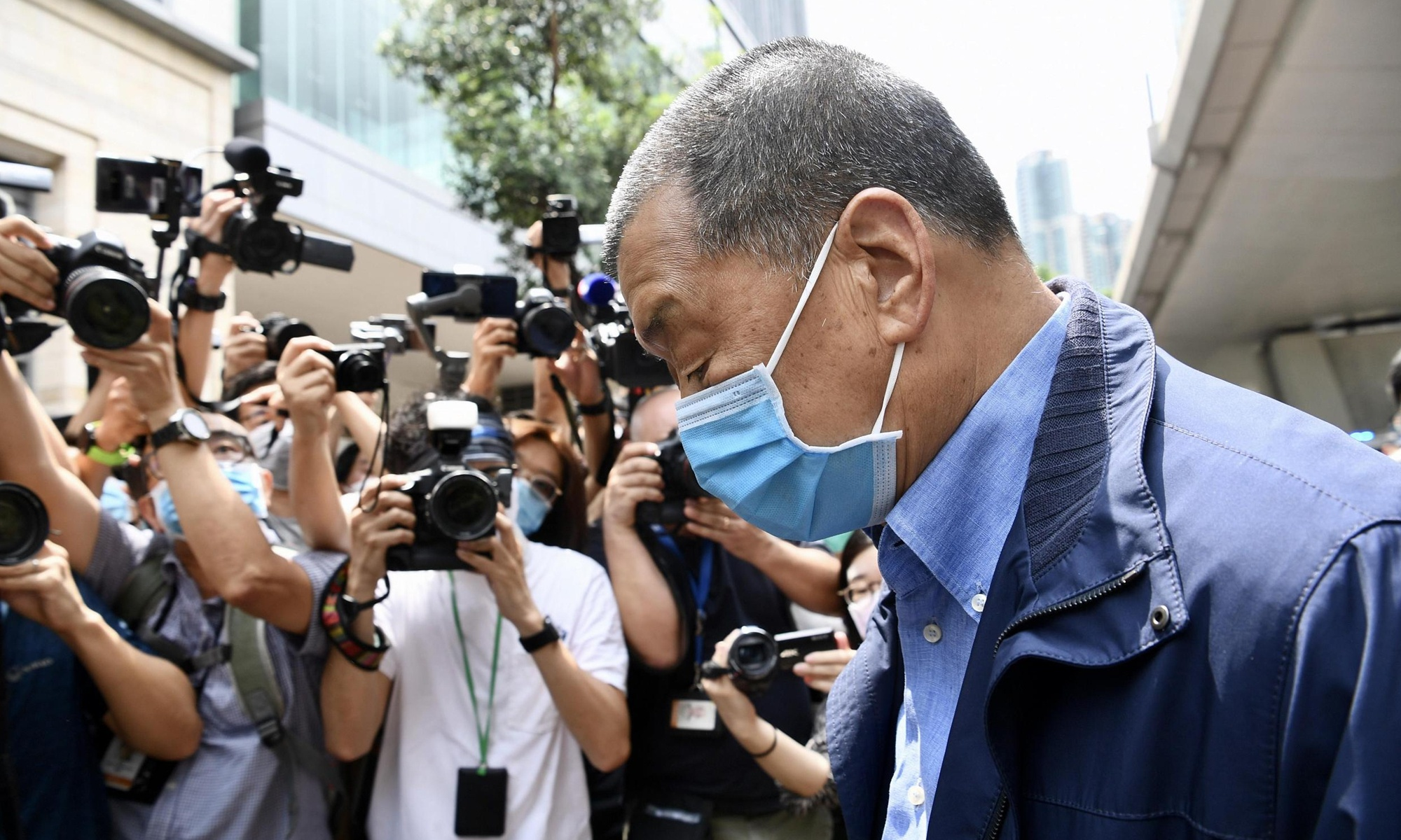 Jimmy Lai bailed out, 'not released': sources