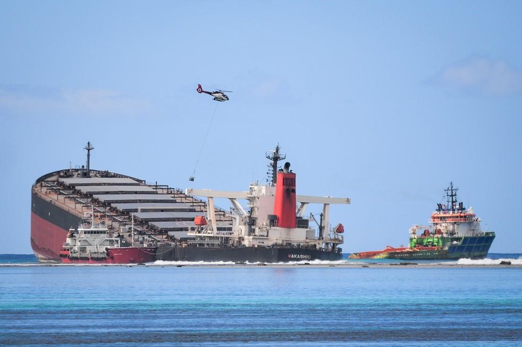 The Japan firms behind Mauritius oil-leak ship