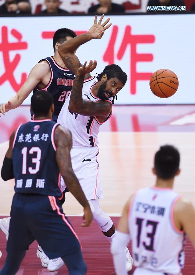 CBA second game of finals: Guangdong Southern Tigers vs. Liaoning Flying Leopards