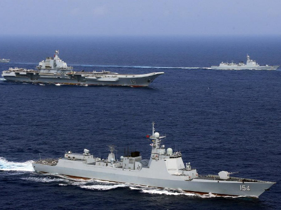 PLA conducts military drills in Taiwan Strait, vows to safeguard sovereignty