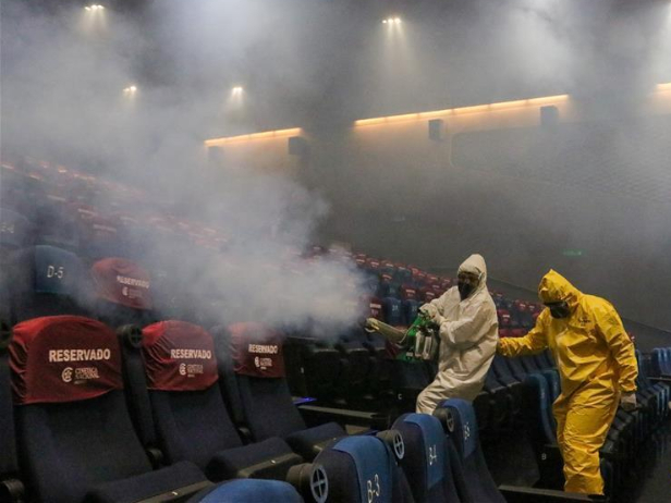 Movie theaters reopen in Mexico City