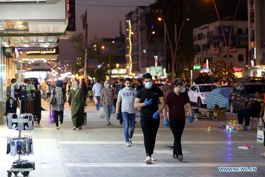 Iraq says prepared for new wave of COVID-19 as infections exceed 160,000