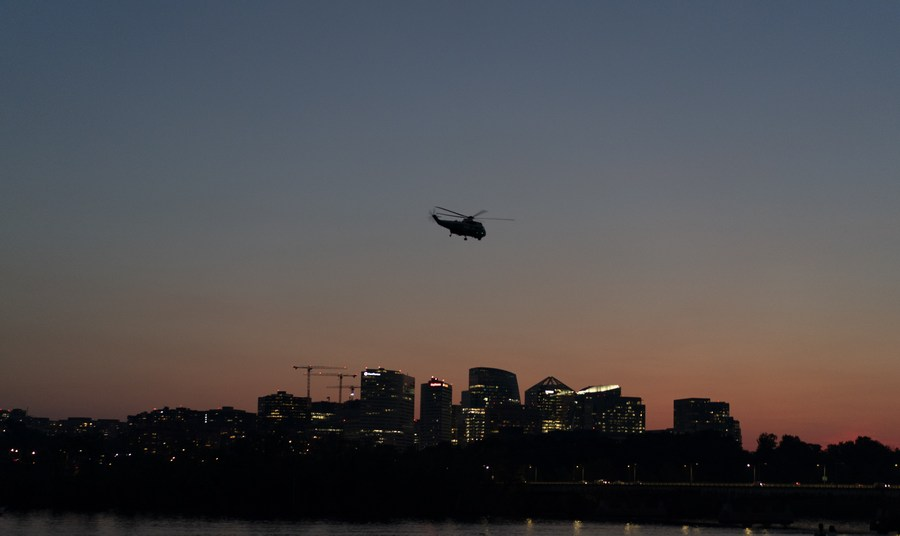 US Air Force helicopter shot, 1 crew member injured: media