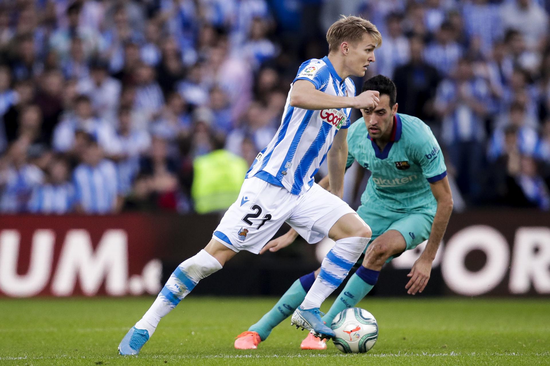 Real Madrid end Odegaard's loan spell at Sociedad
