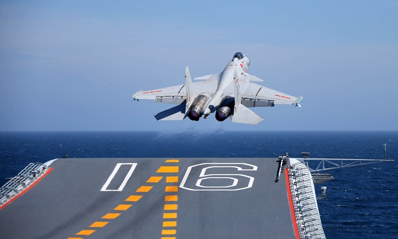 PLA's 'unprecedented drills' in Taiwan Straits for deterrence, actual combat: observers