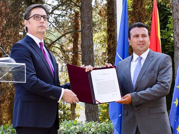 President of North Macedonia gives Zaev mandate to form new gov't