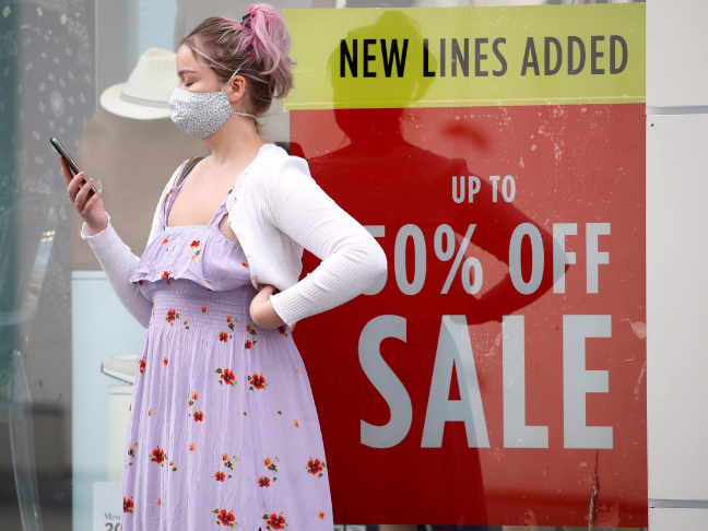 UK consumer spending recovers in July