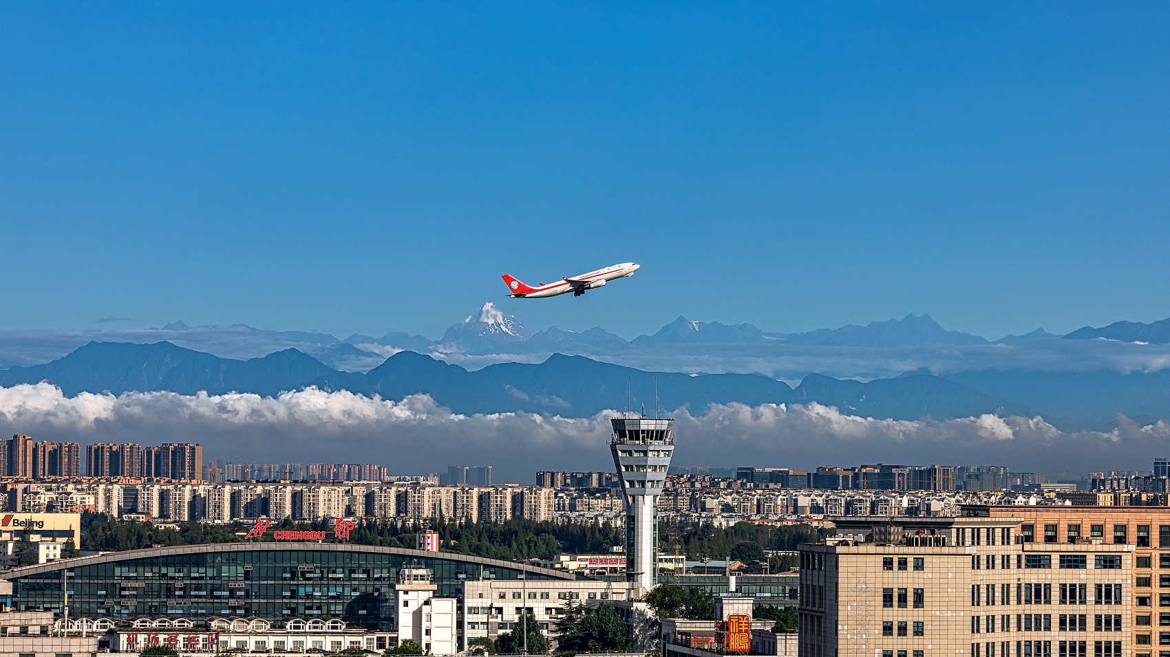 Air route between western China and Europe reopens