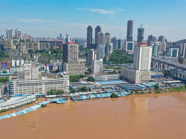China's Yangtze River sees fourth flood of the year