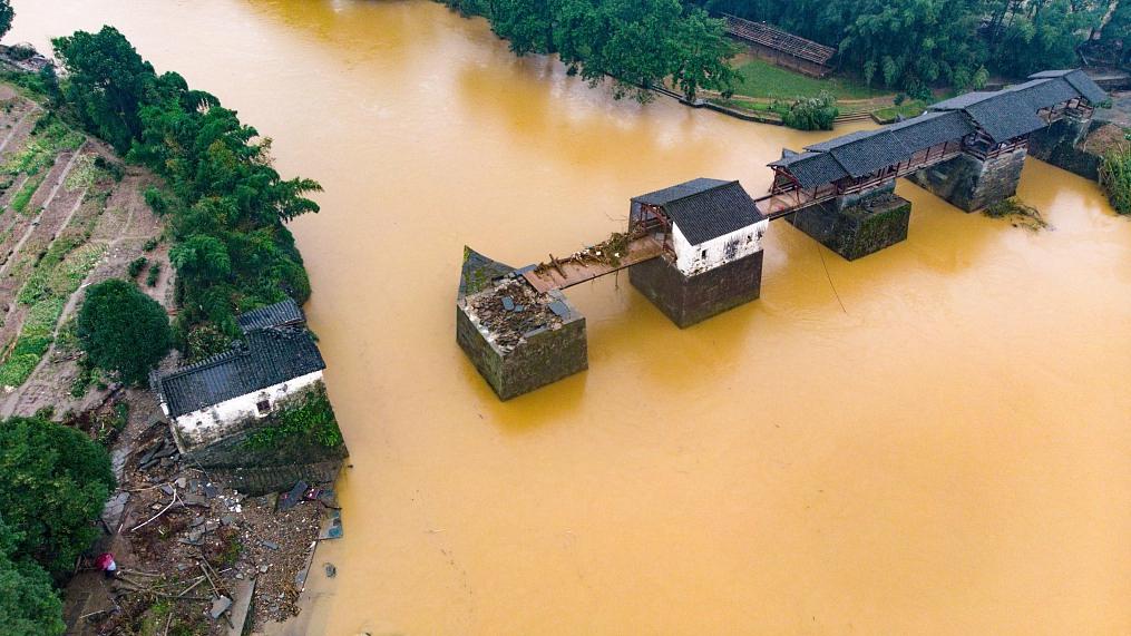 China raises flood emergency-response level