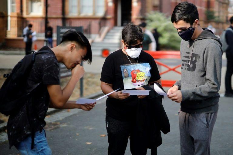 UK govt faces backlash over virus-hit exam grades system