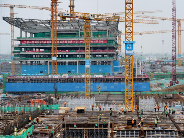 Construction of about 70 projects planned in 2020 starts in Xiongan New Area