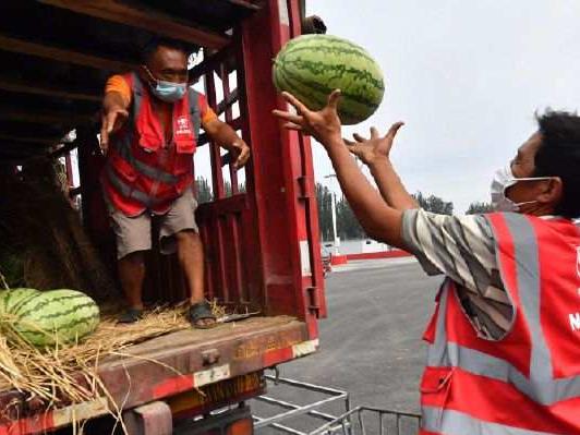 Reopening of Beijing's Xinfadi wholesale market