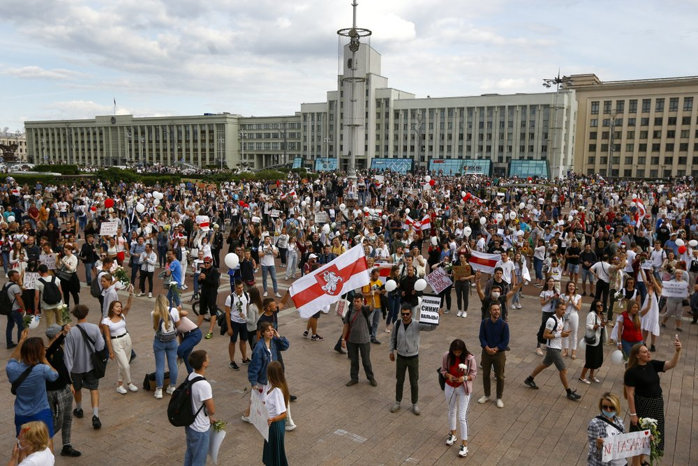 UN chief calls for restraint, calm in Belarus