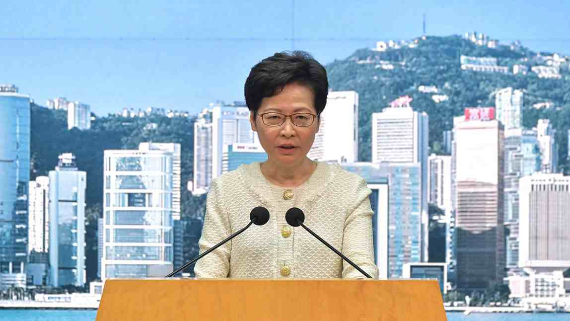 Carrie Lam drops Cambridge fellowship from declaration