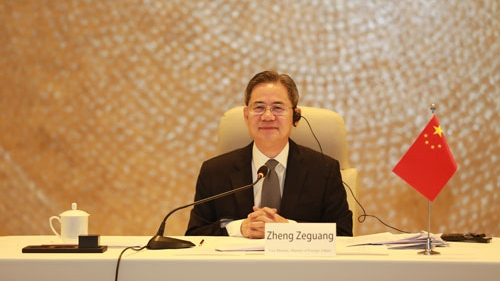 Chinese diplomat calls for efforts to stabilize China-US relations