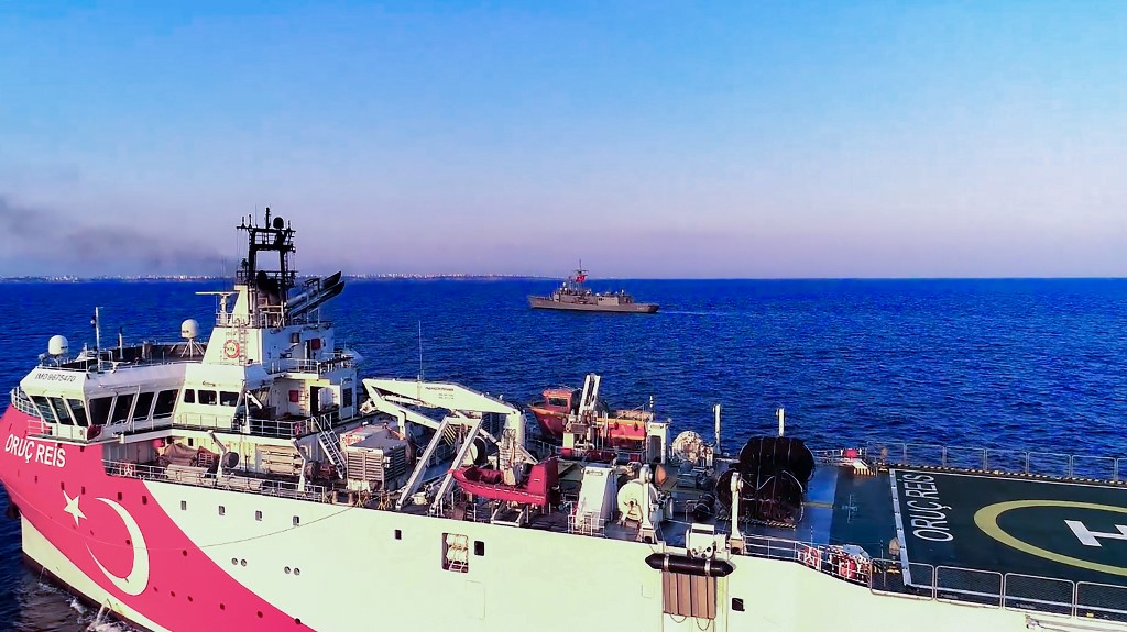 EU urges Turkey to halt gas hunt in east Mediterranean