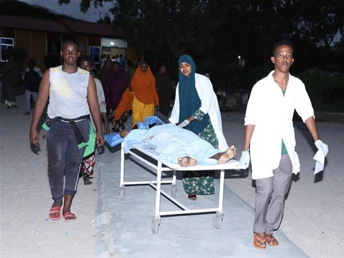 At least 28 injured in car bombing attack in Somali capital