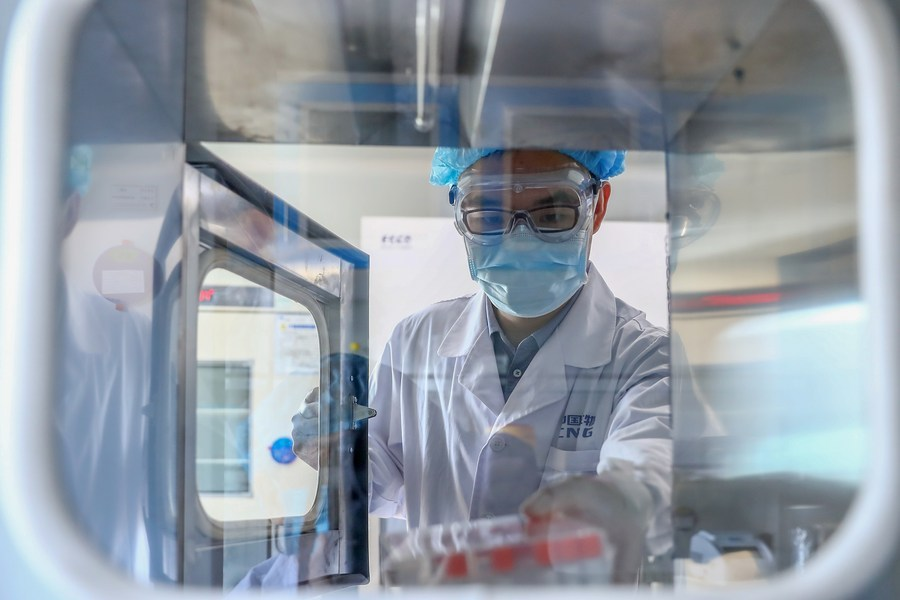 China approves patent to COVID-19 vaccine