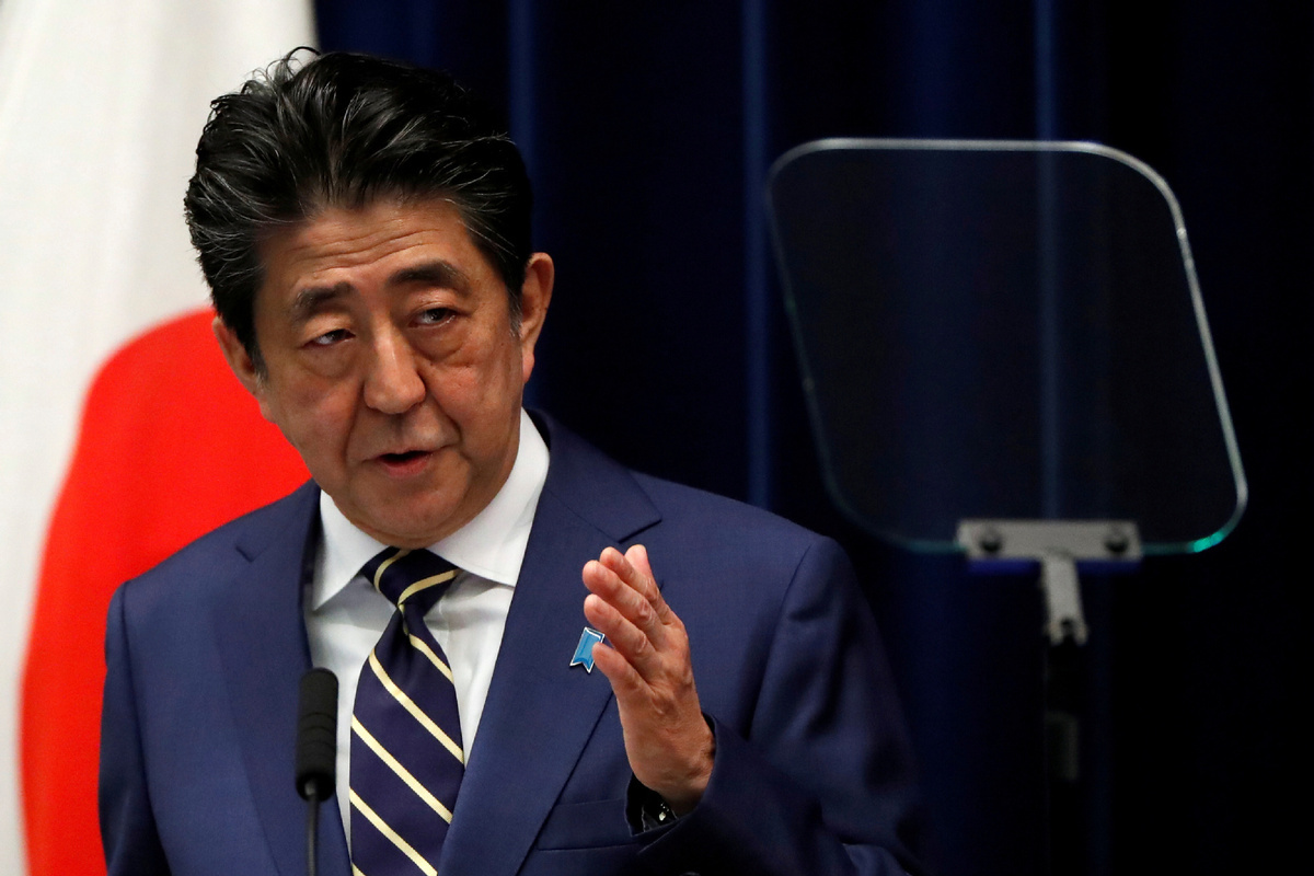 Japan's Abe admitted to hospital for health checkup
