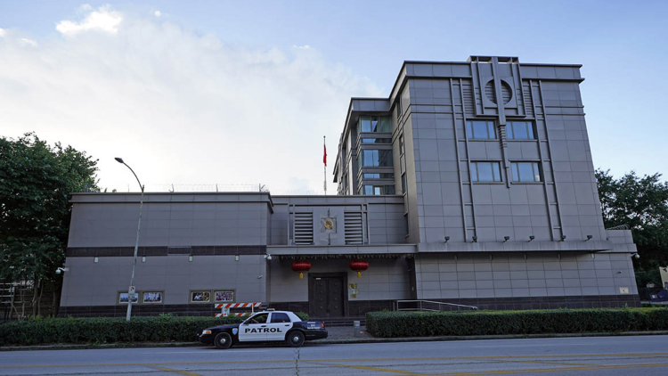 Chinese diplomats of closed Houston consulate leave US