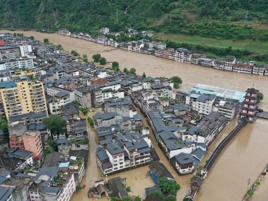 Rains damage 3,303 km of roads in Longnan, Gansu