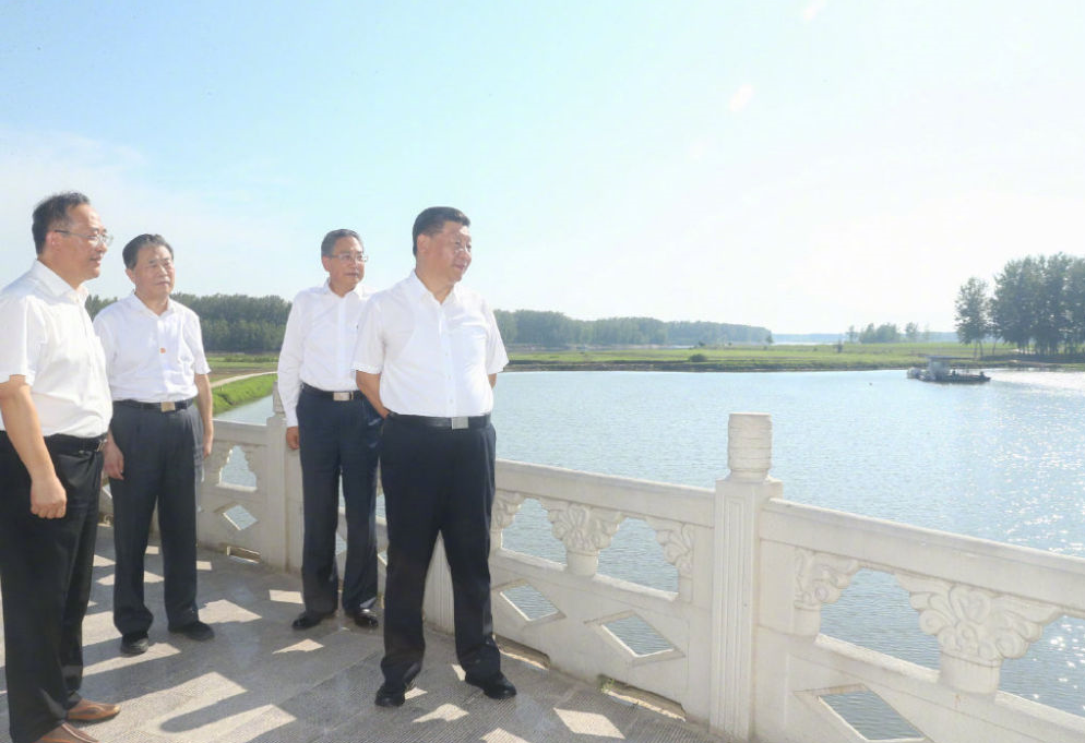 Xi inspects east China's Anhui Province