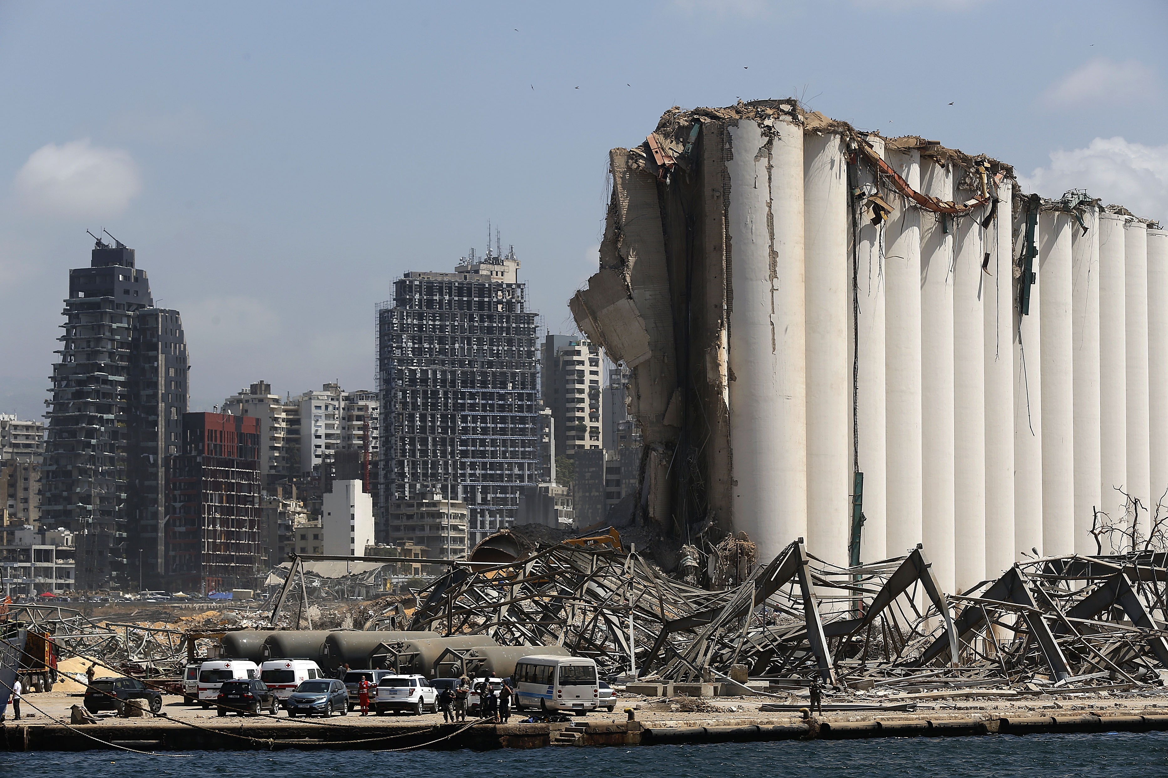 Lebanon receives more donations after Beirut's blasts