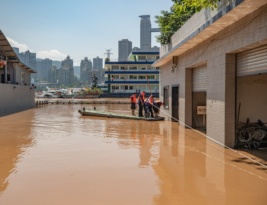 Yangtze River sees fifth flood of the year