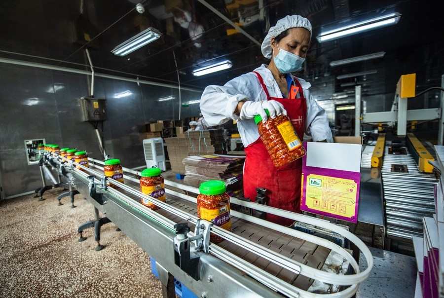 Sales of anti-poverty products exceed 100B yuan