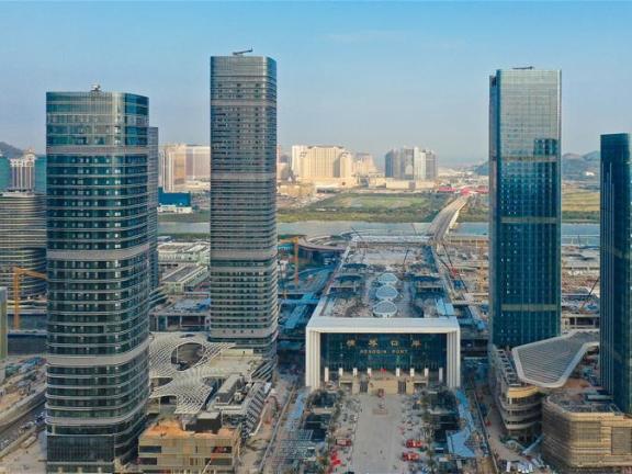 New port linking Macao, mainland opened