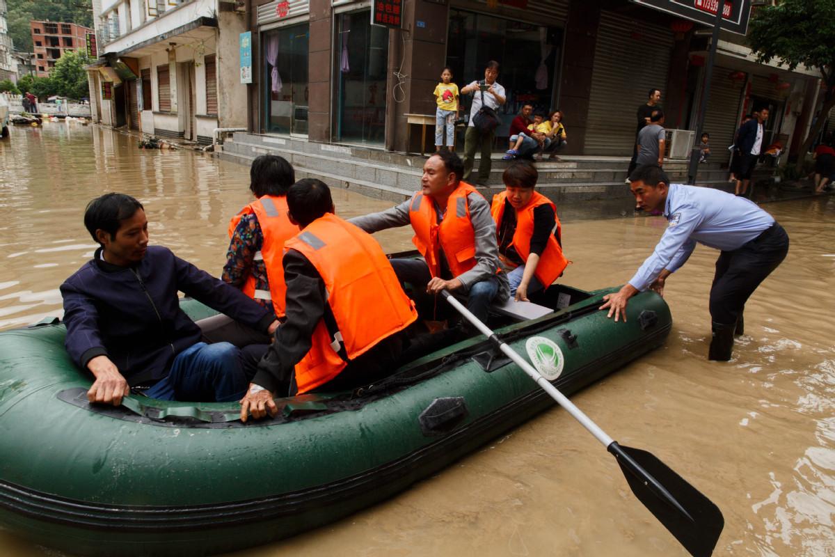 Rescue operations underway in NW China's Gansu