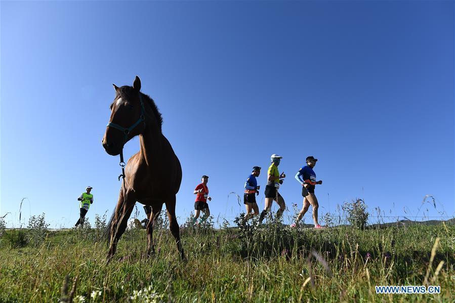 2020 Tour of Qinghai Lake Marathon held in Qinghai